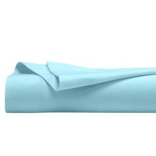 Drap plat Bio Turquoise 240 x 300 cm. Couleurs naturelles pour ce drap