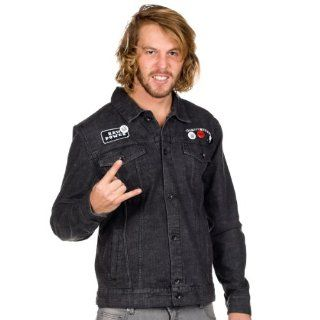 Herren Jacke Vans Iggy Pop Denim Jacket Sport & Freizeit
