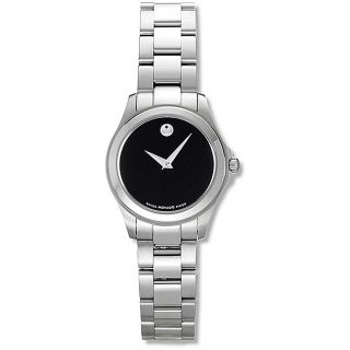 Movado Jr. Womens Stainless Steel Watch