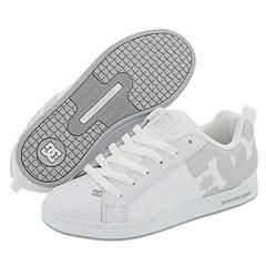 DC Court Graffik W White/Metallic Silver/Armor