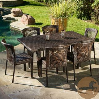 Christopher Knight Home Dusk 7 piece Outdoor Dining Set