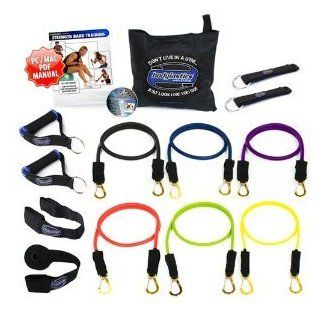 13pcs Resistance Bands *MAX TENSION XT STACKABLE SYSTEM (142