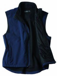Winddichter, atmungsaktiver Bodywarmer, außen Softshell, innen Fleece