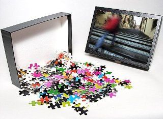 Photo Jigsaw Puzzle of La Scala 142 steps with hand