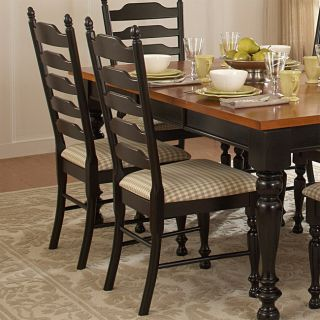 Country Charm Dining Side Chairs (Set of 2)