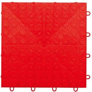 GarageDaddy Red Modular Garage Flooring Kit