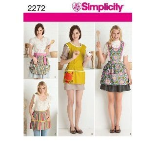 SIMPLICITY 2272 MISSES / APRON PATTERN 4 STYLES ~ SEWING