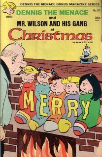 and His Gang At Christmas, #147 HANK KETCHAM Books