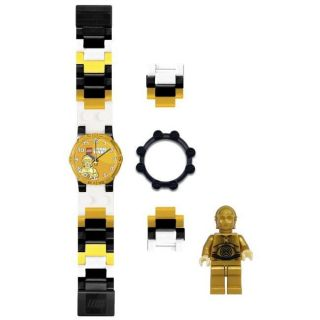 Lego Boys Star Wars C3PO Quartz Watch
