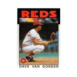 1986 Topps #143 Dave Van Gorder: Collectibles