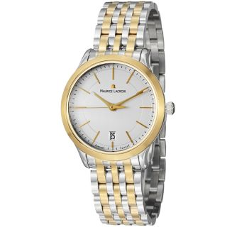 Maurice Lacroix Mens Les Classiques Stainless Steel Two Tone Watch