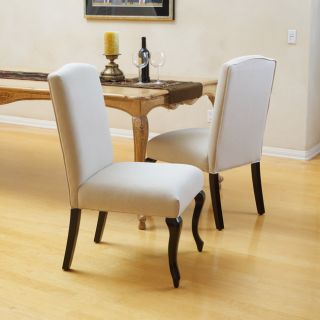 Christopher Knight Home Crown Top Beige Dining Chairs (Set of 2) Today