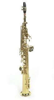 Orchesra/Band Approved Soprano Meal Brass Finish Woodwinds Saxophone