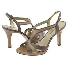 AK Anne Klein Eddie Taupe Leather