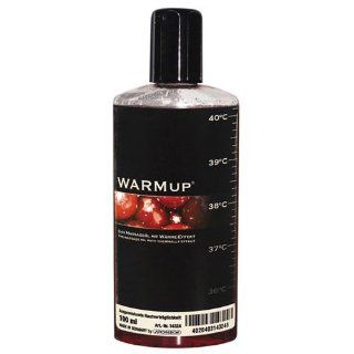 WARMup Massageöl Kirsche Größe: 150 ml: Drogerie