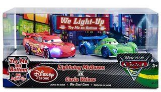 Disney / Pixar CARS 2 Exclusive 148 Light Up Die Cast