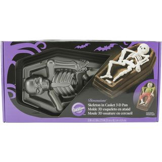 Wilton D Skeleton Cake Pan