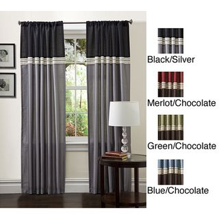 Lush Decor 84 inch Terra Curtain Panel Pair