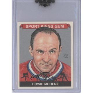 Howie Morenz #/7 (Trading Card) 2009 Sportkings Mini Silver #149