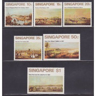 Singapore 144 149 VF MNH set nice colors cv $ 65  see pic