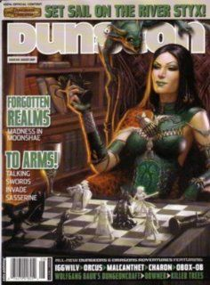 Dungeon Magazine #149 River Styx James Jacobs Books