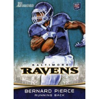 2012 Bowman Football #149 Bernard Pierce Rc. Collectibles
