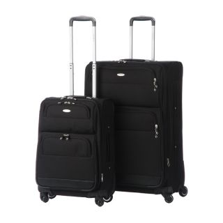 Samsonite Black 2 piece Spinner Upright Luggage Set