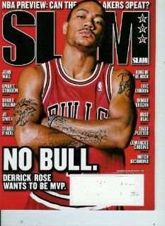 Slam Magazine Issue #143 December 2010 (Cover) No Bull Derrick Rose