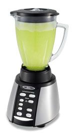 Oster BVCB07 Z Counterforms 6 Cup Glass Jar 7 Speed Blender, Brushed