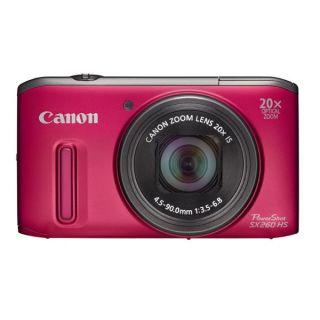 CANON Powershot SX 260 HS Rouge Appareil photo numérique   Doté dun