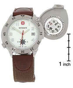 Wenger Mens G 3 Navigator Compass Watch