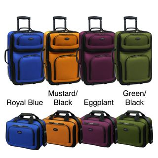 Traveler US5600 RIO 2 piece Expandable Carry on Luggage Set