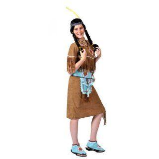 Kostüm funny Indian Girl in braun Gr. S = 36   38: