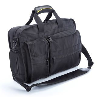 Saks Multi pocket Top Load Briefcase