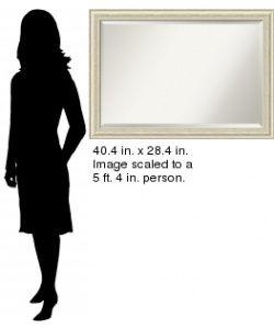 Counry Whiewash Wall Mirror