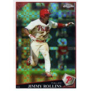 2009 Topps Chrome X fractor #144 Jimmy Rollins: Collectibles