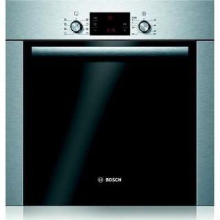Four Pyrolyse BOSCH HBA63A254F inox   Les points clés Type de chaleur