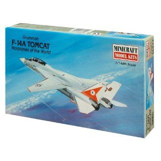 Minicraft Models F 14A Tomcat 1/144 Scale Toys & Games