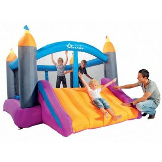 Big Castle Jump & Slide   Achat / Vente STRUCTURE GONFLABLE Big