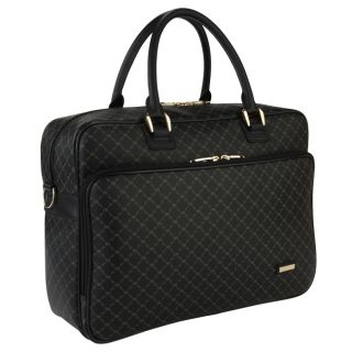 Rioni Signature Black Travel 14 inch Laptop Carrier