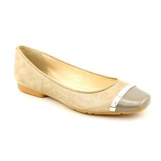 Calvin Klein Womens Pash Regular Suede Casual Shoes (Size 6