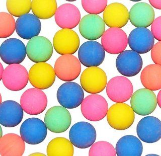 Mini Neon Color Bouncing Ball Assortment (144 pc): Toys & Games