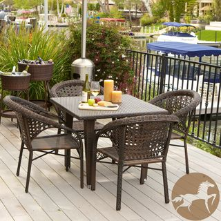 Christopher Knight Home River 5 piece Outdoor Dining Set