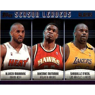 Topps Season Blocks Alonzo   Mutombo   Shaquile # 154: Collectibles