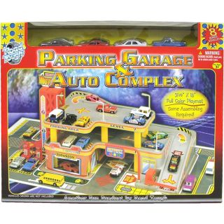 Road Tough Parking Garage and Auto Complex Playset