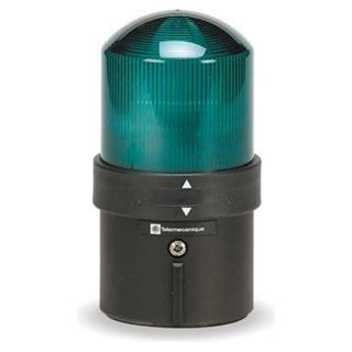 Schneider Electric XVBL4B3 Warning Light, LED, Green, 24VAC/24 48VDC