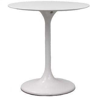 Eero Saarinen Style 28 inch White Tulip Dining Table