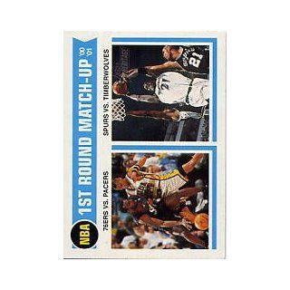 2001 02 Topps Heritage #161 Allen Iverson/Reggie Miller/Kevin Garnett