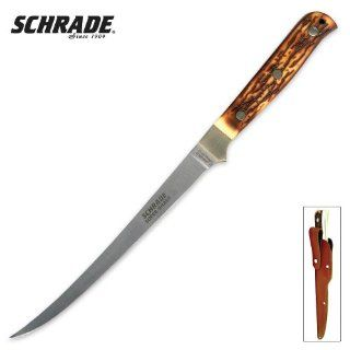 Imperial Schrade 167UHCP Schrade Uncle Henry Filet Knife