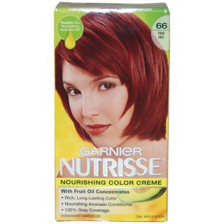 Garnier Nutrisse Nourishing Color Creme #66 True Red Hair Color Today